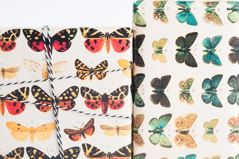 Butterfly Gift Wrap