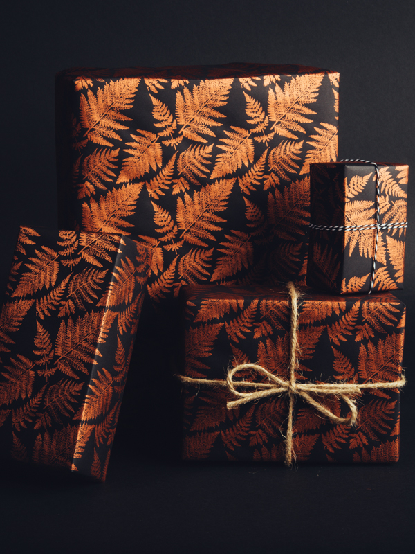 Fern Print Wrapping Paper