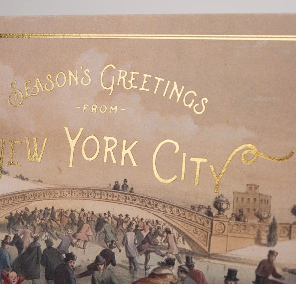 Season's Greetings from New York City, Christmas Card, New York City, Central Park