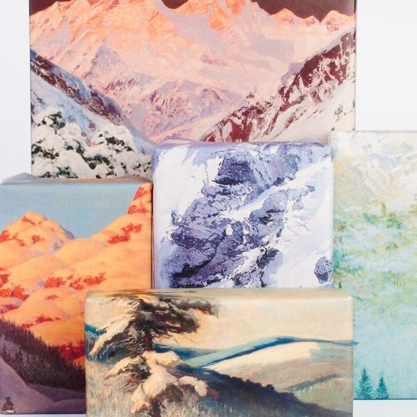 Mountain Range Wrapping Paper