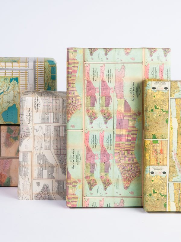 NYC Vintage Map Gift Wrap