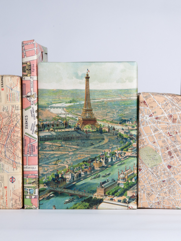 Paris Maps Gift Wrap