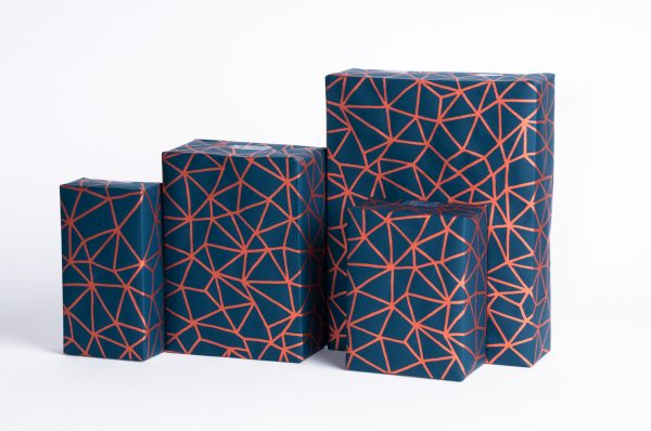 Organic Geometry Wrapping Paper