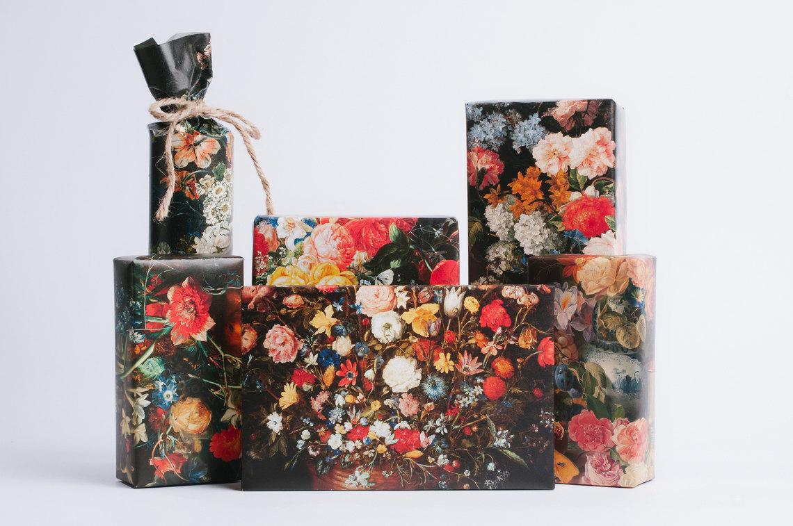 Dutch Still Life gift wrap