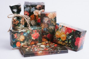 Dutch Still Life gift wrap