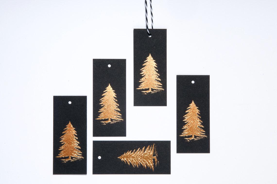 Fir Tree Gift Tags