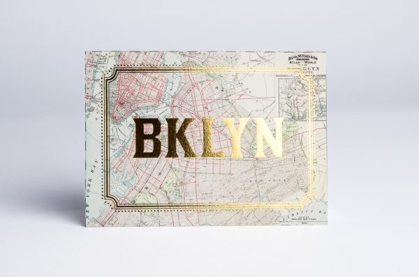 Brooklyn Gold Foil Cards