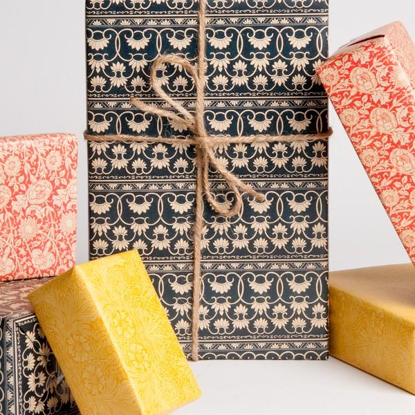 English Wallpaper Gift Wrap