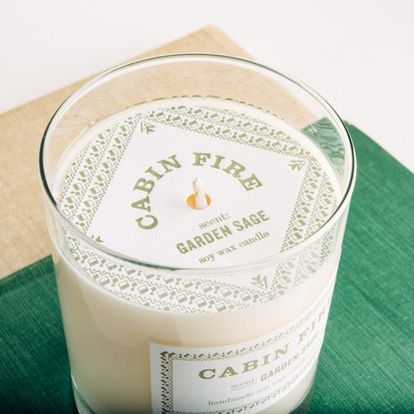 Candle Packaging, Printing, Dust Cover, Label, Letterpress