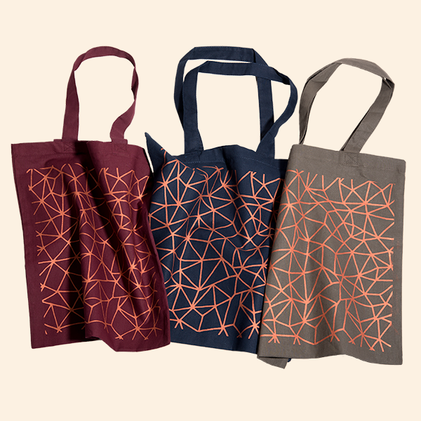 Totes in Copper Ink