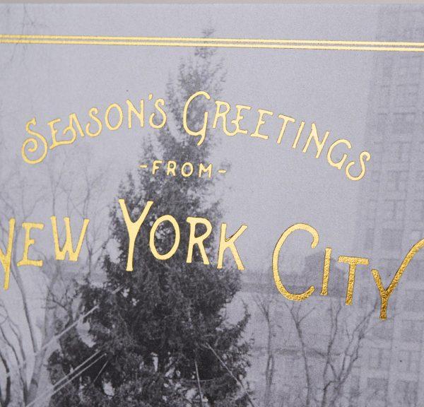 Season's Greetings from New York City