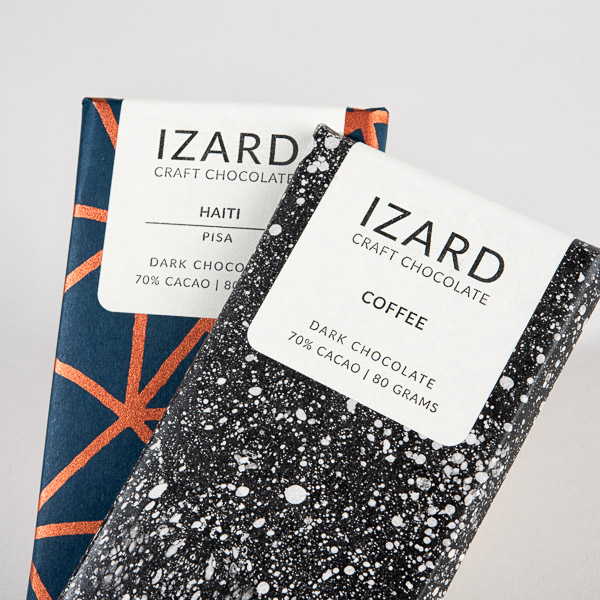 Screen-print Chocolate Packaging Wrap