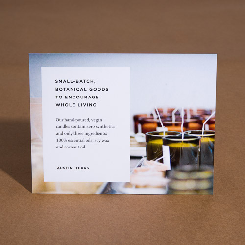 Postcard Insert Card Custom Printing Branding