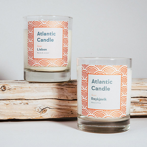 Candle Label Custom Printing Box