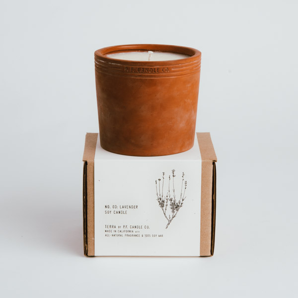 P.F. Candle | Custom Box & Sleeve