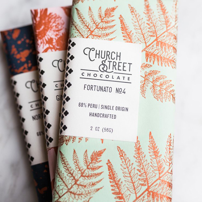 Church Street Chocolate Packaging