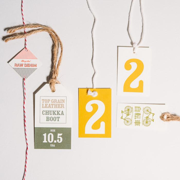 Custom Digital Hang Tags