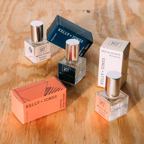 Kelly+Jones Perfume Cartons