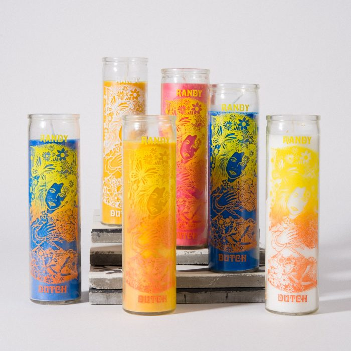 Screen Printed Candle Vessels