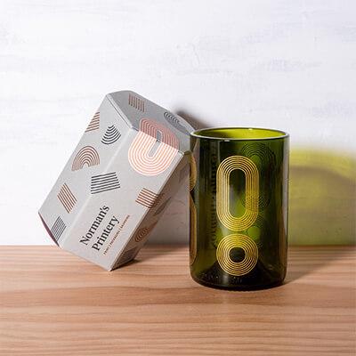 Green Bottle Glass Printing | Norman's Printery