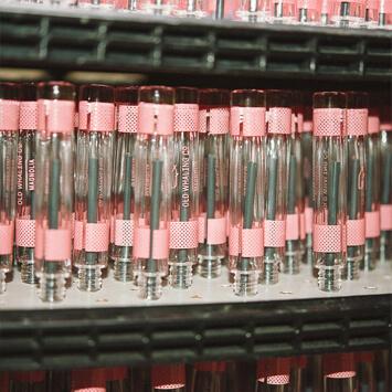 printing process glass vessels